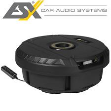 ESX V1100A aktiv Subwoofer Reserverad Bass Auto KFZ
