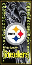 Pittsburgh Steelers 0317 Custom Cornhole Scoreboard with clips Made in the USA