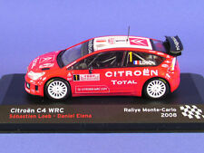 Citroen C4 WRC Rally de Monte Carlo 2008 Ixo/Altaya Sebastian Loeb