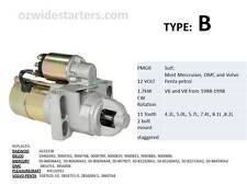 Mercruiser starter motor suit V6, V8 from 1988-1998. Also Volvo Penta, OMC