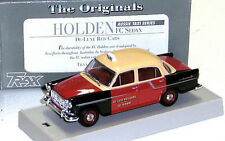 Trax TR13D Holden FC sedan Aussie Taxi Series De-Luxe Red Cabs. 1:43