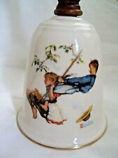 Norman Rockwell Bell Flying High Bell 1980 ~Free Shipping~