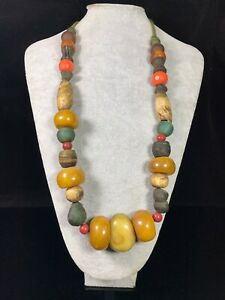 36 cm China Tibet necklace natural crystal Beeswax necklace Pendant jewelry