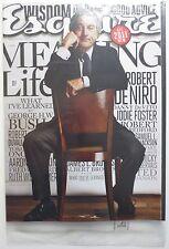 Esquire Magazine - January 2011 - Robert DeNiro New And Sealed (M504)