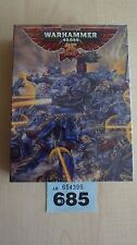 WH40K LIMITED EDITION SPACE MARINE CAPTAIN WH40K 25TH ANNIVERSARY NISB OOP #685