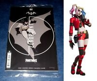 BATMAN FORTNITE #1 C variant 1st print SEALED with HARLEY QUINN skin code DC NM