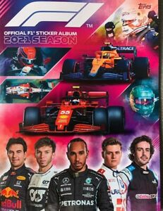 TOPPS F1 2021 FORMULA 1 STICKERS CHOOSE YOUR NUMBERS 1-232