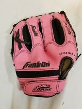 "🔥 Franklin Pink Baseball Glove 10-1/2"" Right Hand Right Throw RTP Series"