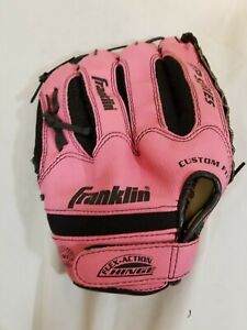 """🔥 Franklin Pink Baseball Glove 10-1/2"""" Right Hand Right Throw RTP Series"""