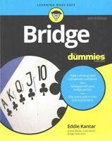 Bridge for dummies, Paperback by Kantar, Eddie, Brand New, Free shipping