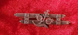 Victorian Silver Sweetheart Brooch