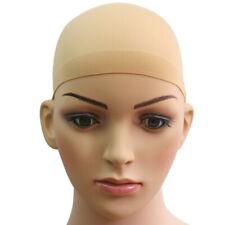 2pc Unisex Nylon Bald Wig Hair Cap Stocking Liner Snood Mesh Stretch Elastic N h
