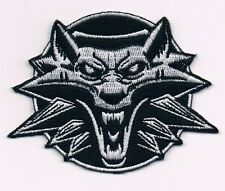 The Witcher 2 3 Assassins of Kings Wild Hunt PATCH LOGO WOLFHEAD Gerlat Cosplay