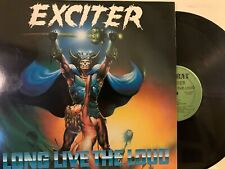 Exciter ‎– Long Live The Loud LP 1985 Combat ‎– MX 8023 w/ Inners NM