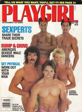 PLAYGIRL May 1989 BRUCE BOXLEITNER Tim Matheson JEFF THOMPSON cfold MANPOWER