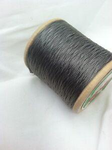 Rice's Button Hole Twist Nylon  Thread  Greyish Taupe # 565