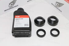 Honda CB 500 T Twin front fork repair kit seal dust seal set + fork oil 500 ml