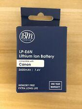 BM LP-E6N Battery for Canon EOS 6D, 7D, 7D Mark II, 5D, 5D Mark II, 5D Mark III