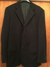 CORNELIANI Blazer Jacket Sport Coat Men's 100% Wool Size 50 Made In Italy