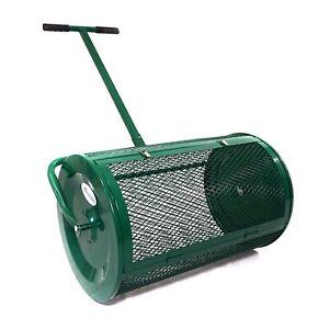 Landzie Compost & Peat Moss Spreader Roller * Topdressing