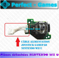 cable alimentation joystick power cable gamepad caps thumbstick nintendo Wii U