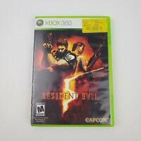 Resident Evil 5 (Microsoft Xbox 360, 2009) *NO Manual* Tested & Working