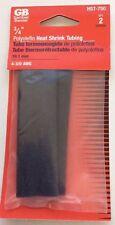 "Gardner Bender 3/4"" Polyolefin Heat Shrink Tubing, 19.1 mm,  Set of 2 - NEW"