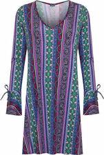 Plus Casual Paisley Dresses for Women