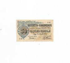 More details for biglietto conzorliale 50 centesimi