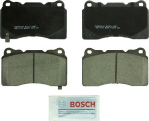 Disc Brake Pad Set-Quietcast Ceramic Pads with Hardware Front,Rear Bosch BC1001