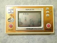 NINTENDO TROPICAL FISH - GAME & WATCH - HANDHELD CONSOLE LCD SCREEN - ORIGINALE