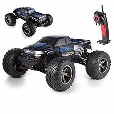 1/12 Scale 2.4Ghz Remote Control 2WD Off Road Monster Truck 42kmh R/C RTR (Blue)