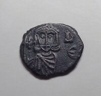 (741-775 CE) Byzantine Empire - Constantine V Copronymus AE Follis.