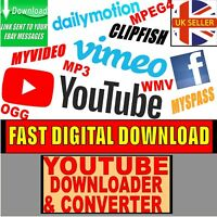 YOUTUBE VIMEO FACEBOOK CLIP DOWNLOADER VIDEO CONVERTER PC/MAC APP 2020 DOWNLOAD