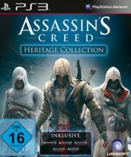 PlayStation 3 figuras assassins creed heritage Collection alemán nuevo