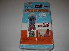 VINTAGE NINTENDO SUPER MARIO BROS. SHOWER POWER HAND HELD SHOWER HEAD 1989