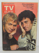 Collectible TV Guide Magazine Starsky and Hutch Television Show 11-15-1975