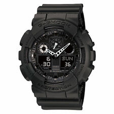 Casio G-Shock Mens Wrist Watch GA100-1A1 GA-100-1A1DR Digital-Analogue Black New