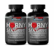 Male Enhancement - Horny Sex Drive - Naturally Huge Strength Tongkat Ali 2B