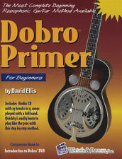 Dobro Primer for Beginners TAB Music Book with CD Learn How To Play Method