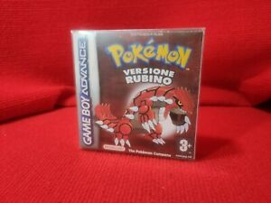 Nintendo Gameboy Pokémon versione rubino Box Repro  Case  Custodia ITA NO GIOCO