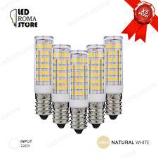 LAMPADINA LED 7W X5 AC 220V E14 SMD2835 SUPER LUMINOSA LUCE NATURAL 4000K 4500K