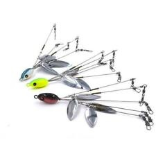 5 Arm 4 Blades Alabama Umbrella Rig  Fishing Bass Lures Bait Kit Random Sup V3U8