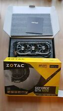 Nvidia GeForce GTX 1070 Zotac AMP EXTREME