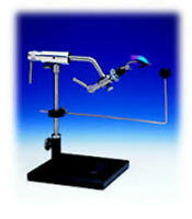 Dyna-King Barracuda Pedestal Fly Tying Vise - Fly Fishing