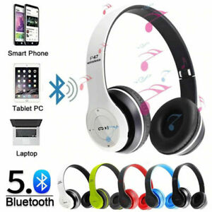 Wireless Headphones Bluetooth Kid Earphone Noise Cancelling over Ear Stereo P47