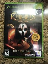 Star Wars:Knights Of The Old Republic II 2 The Sith Lords Orginal Xbox Complete