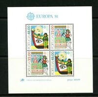 V887  Portugal  1981  Europa folklore   sheet   MNH