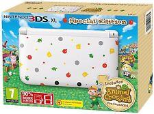 Nintendo 3DS XL console - Animal Crossing New Leaf - NEW MINT / NEUF - PAL/EU