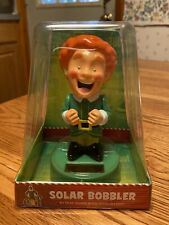 Solar Powered Dancing Bobble Head Toy New - LARGE Buddy The Elf